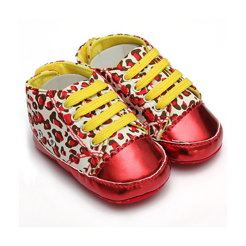 HOT SALE Baby Girls Boys Cute Dot Bow Soft Sole Anti slip Toddlers Shoes style H