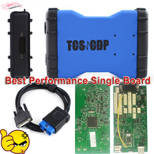 2017 Newest TCS CDP Pro Plus Single Board With Bluetooth+Keygen TCS CDP PRO Plus OBD2 Scanner tcs cdp12V/24V CAR+TRUCK Free ship