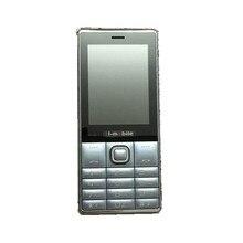 H-Mobile S9850 Téléphone Avec Double Carte SIM Bluetooth lampe de Poche MP3 MP4 FM Caméra 2.8 pouce CheapPhone (peut ajouter le Clavier Russe)