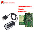 Newest V5.008 R2 WoW SNOOPER +Keygen free active without Bluetooth Car Truck Diagnostic Tool New WOW VCI Better Than TCS CDP PRO