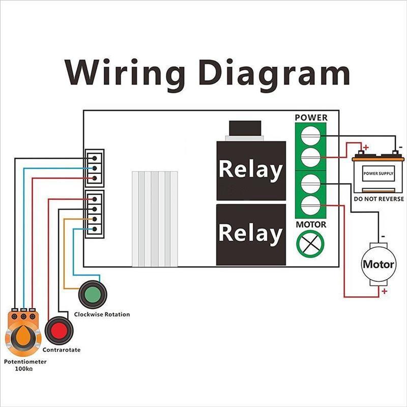 ШИМ DC 6 в 9 в 12 В 24 В 3A контроллер скорости двигателя постоянного тока вперед назад реверсивный переключатель хорошее качество