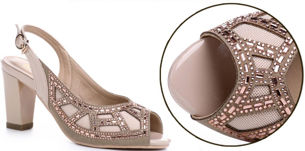 25992c8b725 ... with summer fashion sandals mouth leather real wedding sh fish drill  the ladies  chunky new