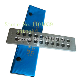 Free Shipping 20 Holes Half Round Drawplate Hole Size 5.10-7.00mm Tungsten Carbide Draw Plates jewelery tools