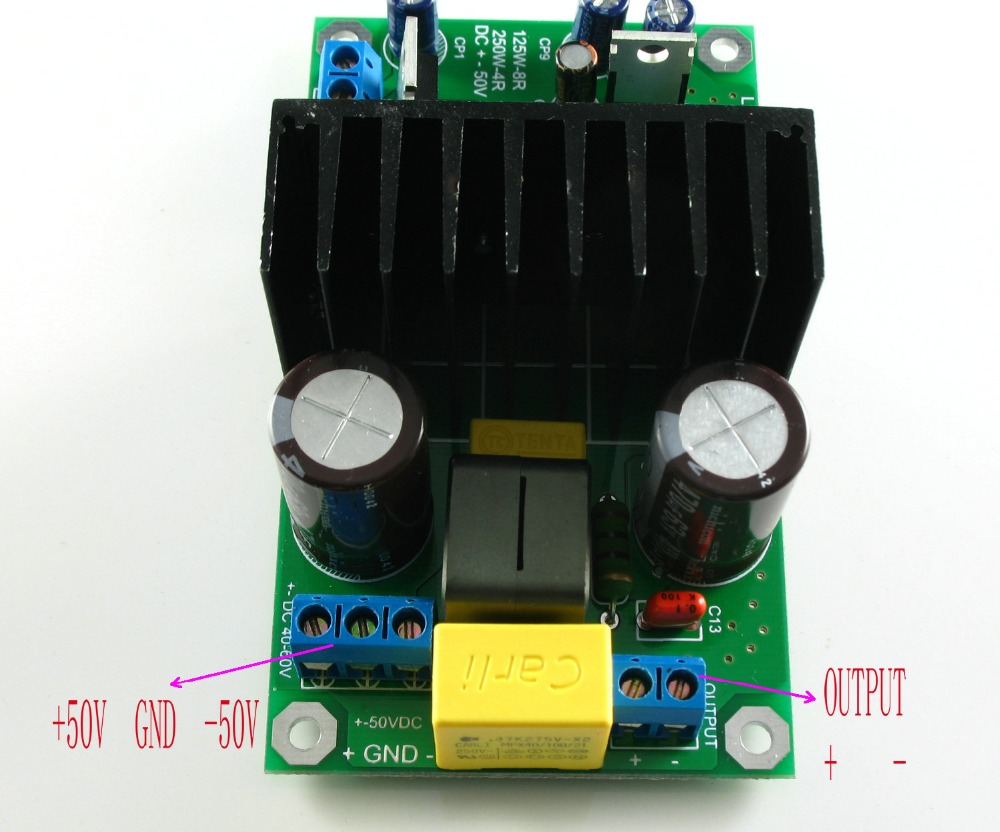 Irs2092 Class D Amplifier Circuit Lm1036 Tone Controlled Audio L15dsmd 250w Irs2092s Mono Completed Board In From Consumer Electronics On Alibaba Group