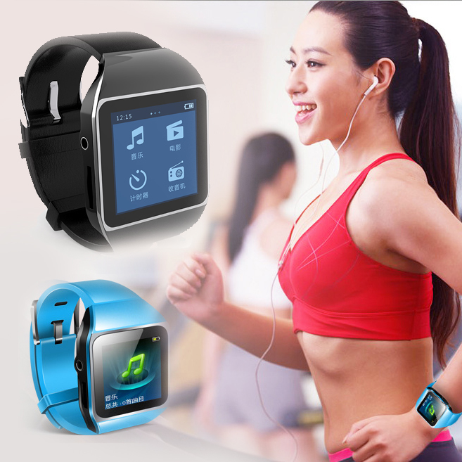 Sport Bluetooth Digital Watch MP3 with touch screen 8GB ...