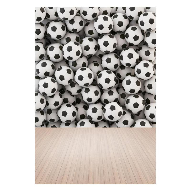ALLOYSEED Football Wall Wood Floor Background 3X5FT Soccer Fans Photography Backdrop Studio Photo Props Home Decor Backgrounds huayi 4pc 2x2ft wood floor brick wall backdrop vinyl photography backdrops photo props background small object shooting gy 019