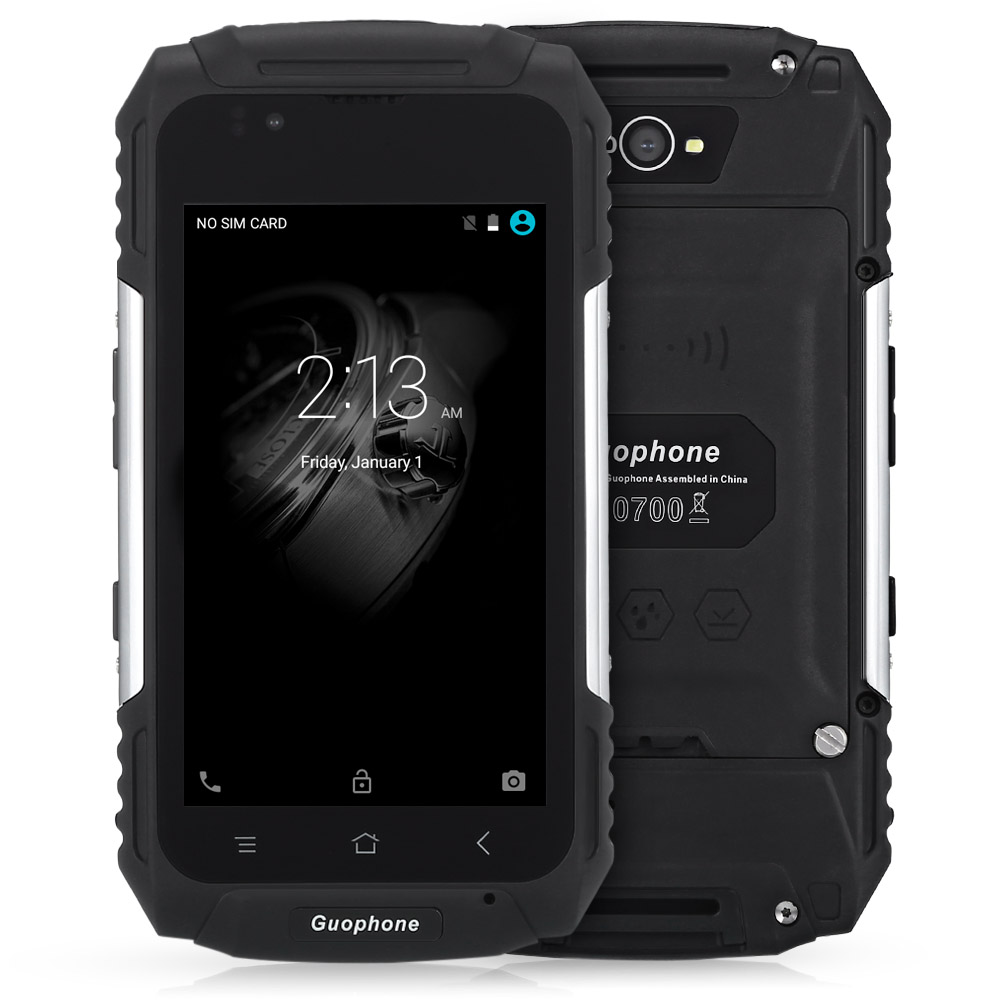 Original Guophone V88 4.0 Inch Android 5.1 3G Smartphone IP58 Waterproof Dust Shock Resistant MTK6580 Quad Core 1GB RAM 8GB ROM