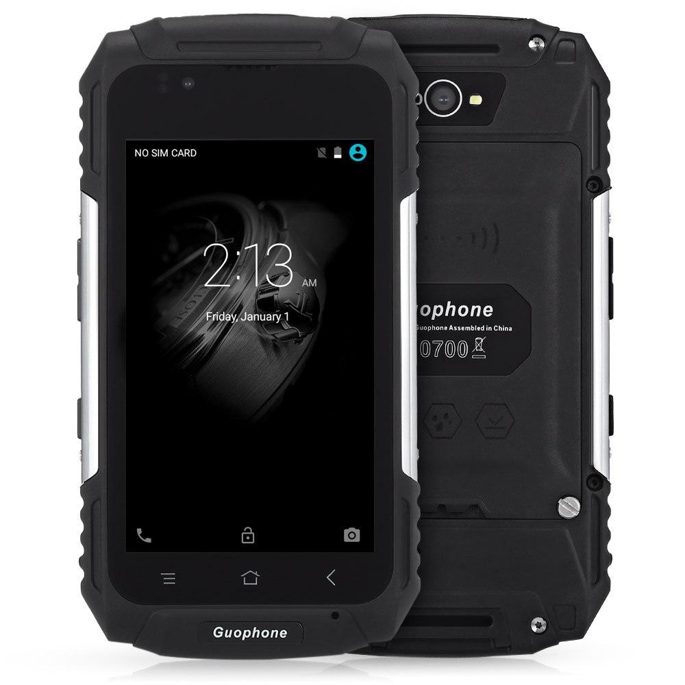Original Guophone V88 4.0 Inch Android 5.1 3G Smartphone IP58 Waterproof Dust Shock Resistant MTK6580 Quad Core 1GB RAM 8GB ROM