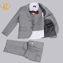 Nimble/костюм для мальчиков; однобортный костюм для мальчиков; Свадебный костюм; Enfant Garcon Mariage; блейзер для мальчиков; спортивные костюмы для мальчиков