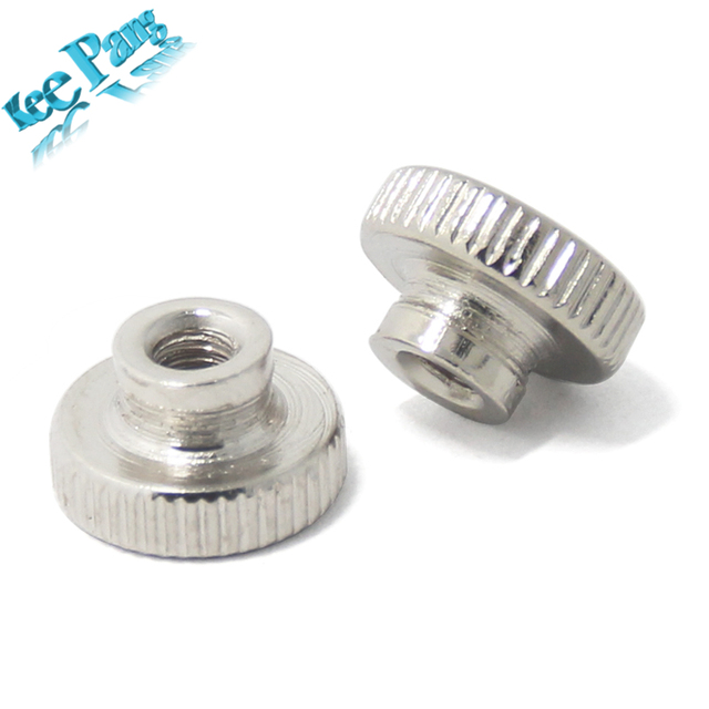5pcs/lot M3 Screw Nuts Part For Heated Bed 3D Printers Parts Stainless Steel Adjustment Screws Components Accessoriess KINGROON