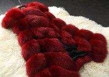 Winter Warm Fashion Long Women Faux Fur Vest
