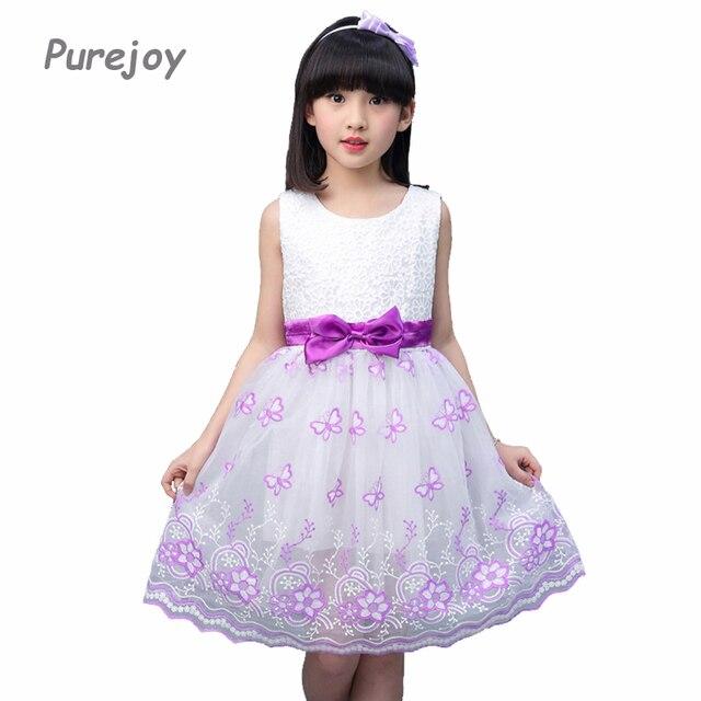 37976ea53 Vestidos de princesa para Niñas Flores Vestido de Tirantes Niños Ropa  Infantil Vestidos Niños Vestidos de