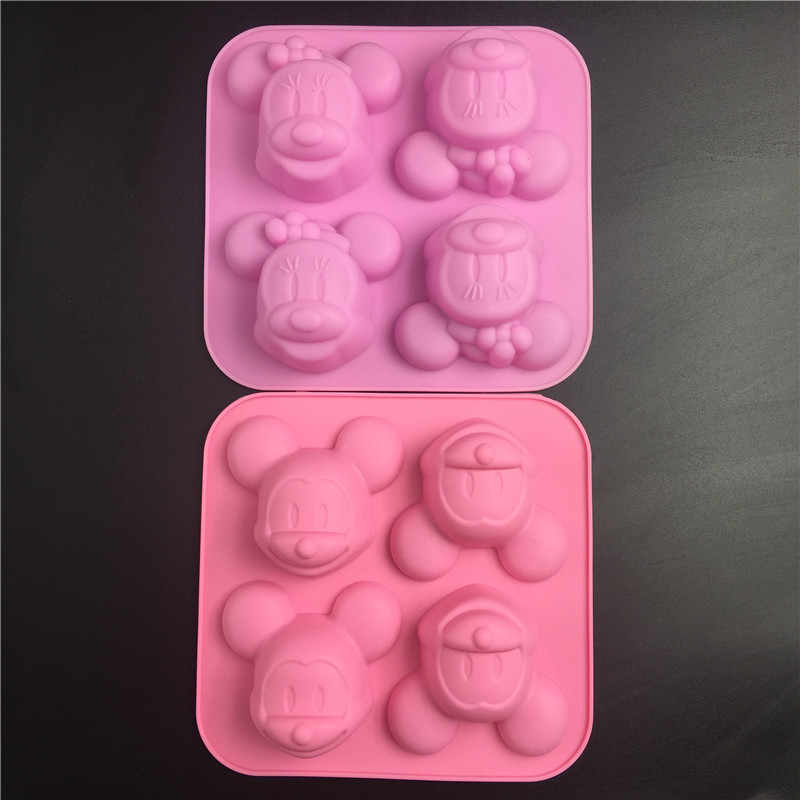 6in1 Halloween Silicone Cake Mold Ice Cube Soap Chocolate Cookie Baking Mould