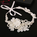 Ivory Simulated Pearl Handmade Bridal Hair Band Europe Style Ladies Beautiful White Flowers Hair Accessoies Use for Updo RE270