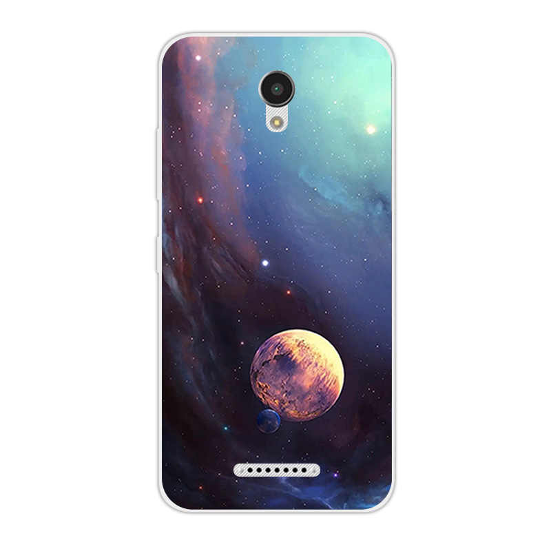 Para Lenovo Vibe B A2016 A1010 A20 un Plus APlus A1010a20 1010 A2016A40 de teléfono TPU suave cielo estrellado cielo cubierta para Lenovo un Plus A1010