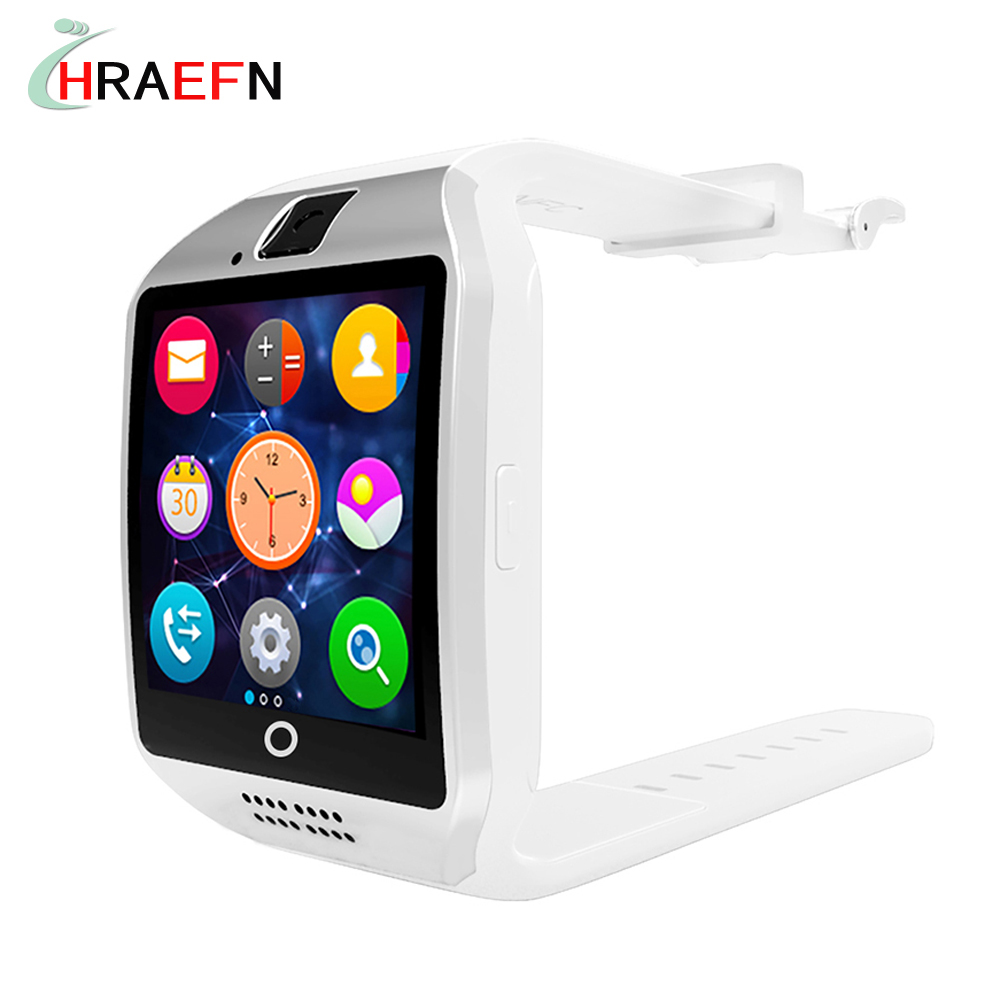 Smartwatch Q18 with camera Facebook Whatsapp Twitter bluetooth smart watch Sync SMS for IOS Android xiaomi huawei samsung phone