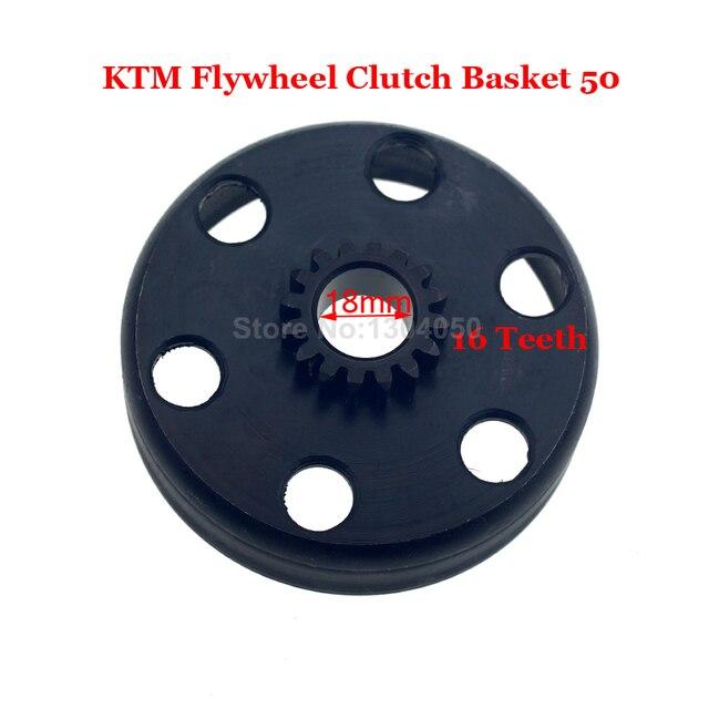 KTM50 Clutch Basket Flywheel Junior Senior Mini Adventure SX PRO LC Supermoto KTM 50