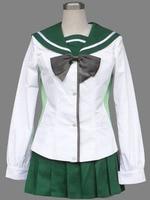 HIGHSCHOOL OF THE DEAD Cosplay Fujimi Academy School Girls Uniform Cosplay Costumes Halloween Costumes