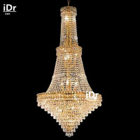 chandelier crystal lighting,dining room chandelier,unique empire crystal chandelier lighting,D70cm x H142cm