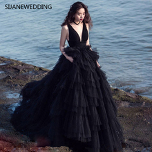 SIJANEWEDDING SIJANE V-Neck Wedding Dress Ball Gown