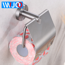 Stainless Steel Toilet Paper Holder Creative Cover Paper Towel Holder Rack Wall Mounted Bathroom Toilet Tissue Roll Paper Holder bathroom wall mounted stainless steel adhesive toilet paper holders toilet paper holders rack holder bathroom towel holder paper