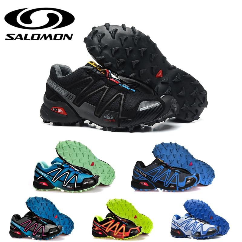 Salomon Speed Cross 3 CS III Mens Running Shoes Cross Country Sport Sneakers Men Athletic Outdoor Salomon Shoes Size 40-46