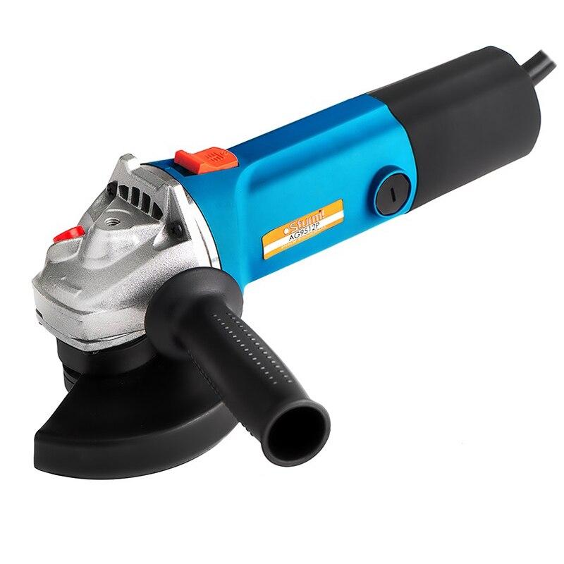 Angle grinder Sturm! AG9512P kalibr mshu 125 955 electric angle grinder polisher machine hand wheel grinder tool