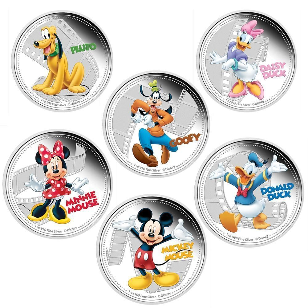 in which country can disney coins be used as currency