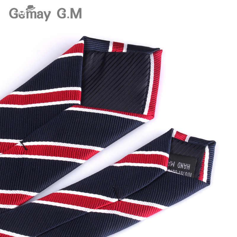 Мужские галстуки шириной 6 см, новые модные галстуки в клетку, Жаккардовые тонкие галстуки, деловые, свадебные, полосатые галстуки для мужчин