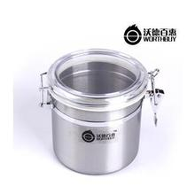 Stainless steel Sealed cans high quality cheap price dia:13cm High:12cm 900ml  free shipping