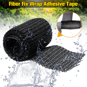 Home DIY Fiber Fix Wrap Adhesive Tape Sealers Black Strong Adhesive Household Repair Tools For Repairing Pipeline Table Foot