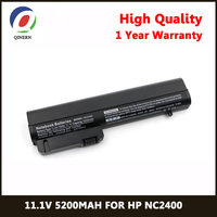 11.1V 5200MAh 6Cells Laptop Battery For HP 2533t EliteBook 2530p 2540p For COMPAQ 2400 2510p nc2400 Business notebook Batteries