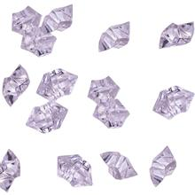 METABLE 120Pcs/2.5CM Clear Acrylic Ice Rocks Crystal Scatters for Vase Filler Table Wedding Decoration (Clear)