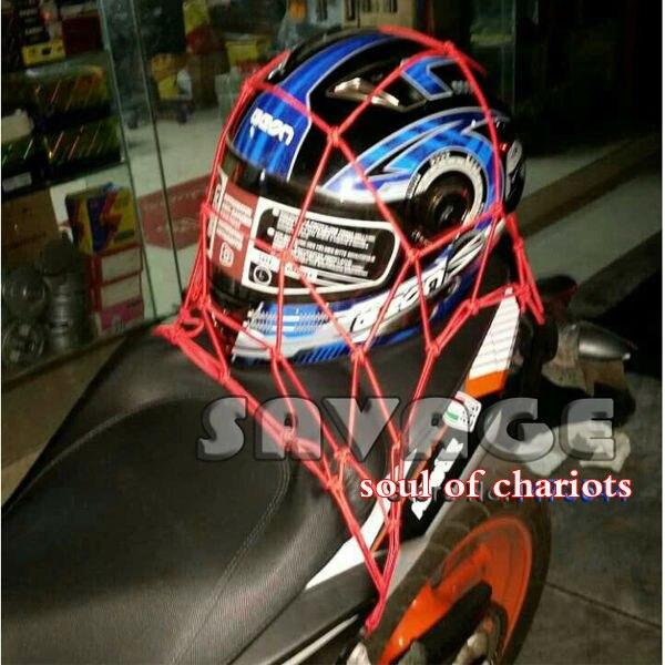 525d890e732 Accesorios de la motocicleta de fuerza elástico red para el casco de moto  Cargo equipaje Net