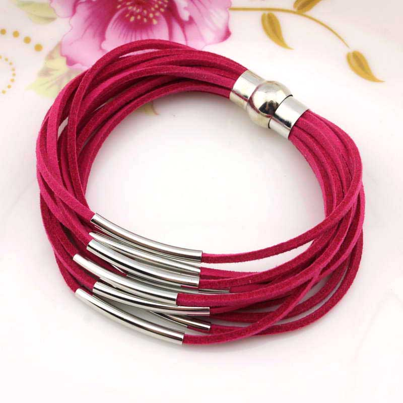 2016 New Fashion Women Magnetic Tube Lås Armband & Bangles - Märkessmycken - Foto 2