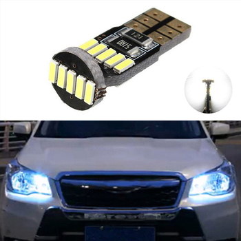1x W164 T10 W5W 15 LED 4014SMD Parking Lights Sidelight No Error For Subaru impreza legacy xv forester Outback Tribeca Fiat image