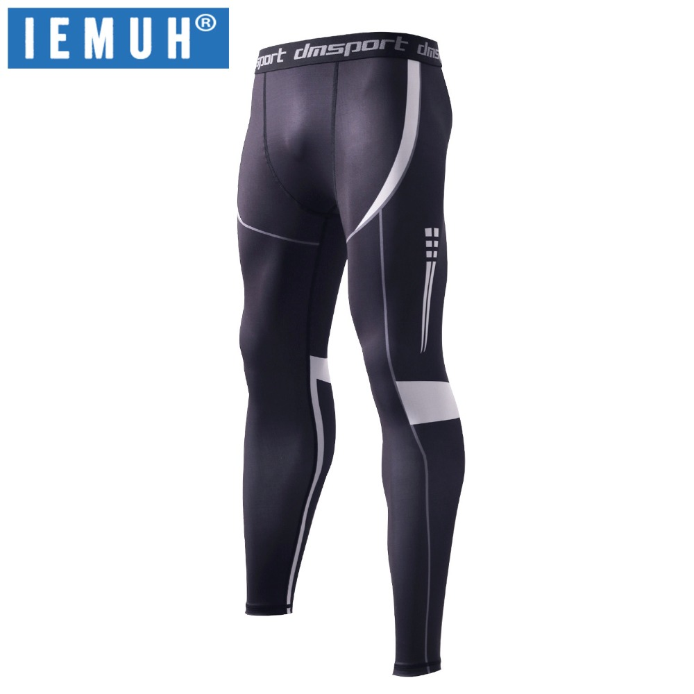 Sportswear Men Trainning Exercise Pants Stretch Male Fitness Outdoors Tights Pants Flexible Gym Quick Dry Breathable Sports Pant