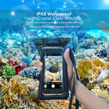 Mpow IPX8 Universal 6 inch Waterproof Mobile Phone Bag