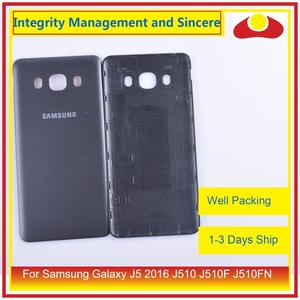 Image 5 - 50 шт./лот для Samsung Galaxy J5 2016 j510 J510F J510FN J510H J510G корпус Батарейная дверь задняя крышка корпус