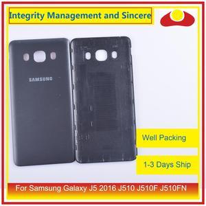 Image 5 - Original For Samsung Galaxy J5 2016 J510 J510F J510FN J510H J510G Housing Battery Door Rear Back Cover Case Chassis Shell
