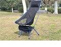 1 pcs novo Design exterior alongar portátil leve Folding Camping Stool cadeira com confortável travesseiro