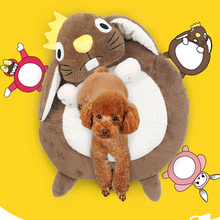 HELLOMOON New fashion fleece pet bed soft breathable hand mechanical wash for small medium dogs dog beds