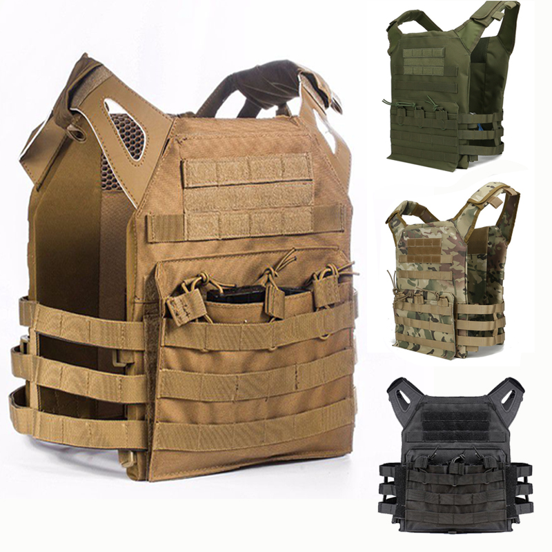 Hunting Tactical Vest Body Armor JPC Molle Plate Carrier Vest Outdoor CS Game Combat Paintball Airsoft Vest Military Equipment