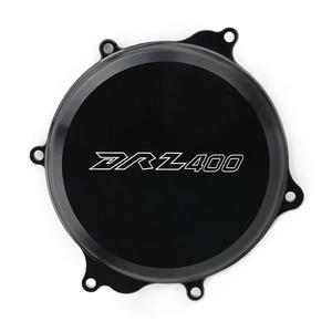 Cubierta de embrague del cárter del motor, cubierta exterior derecha para SUZUKI DRZ400 DRZ DR-Z 400 DRZ400S DRZ400SM DRZ400E, accesorios de motocicleta CNC