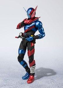 Image 3 - BANDAI figura Original de Tamashii Nations S.H., figura de motociclista Kamen Figuarts/figura de acción shf kamen Rider Build Rabbit forma de tanque
