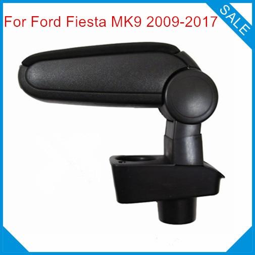 Free Shipping FOR FORD FIESTA MK7 2009 2019 Car ARMREST Car font b Interior b font