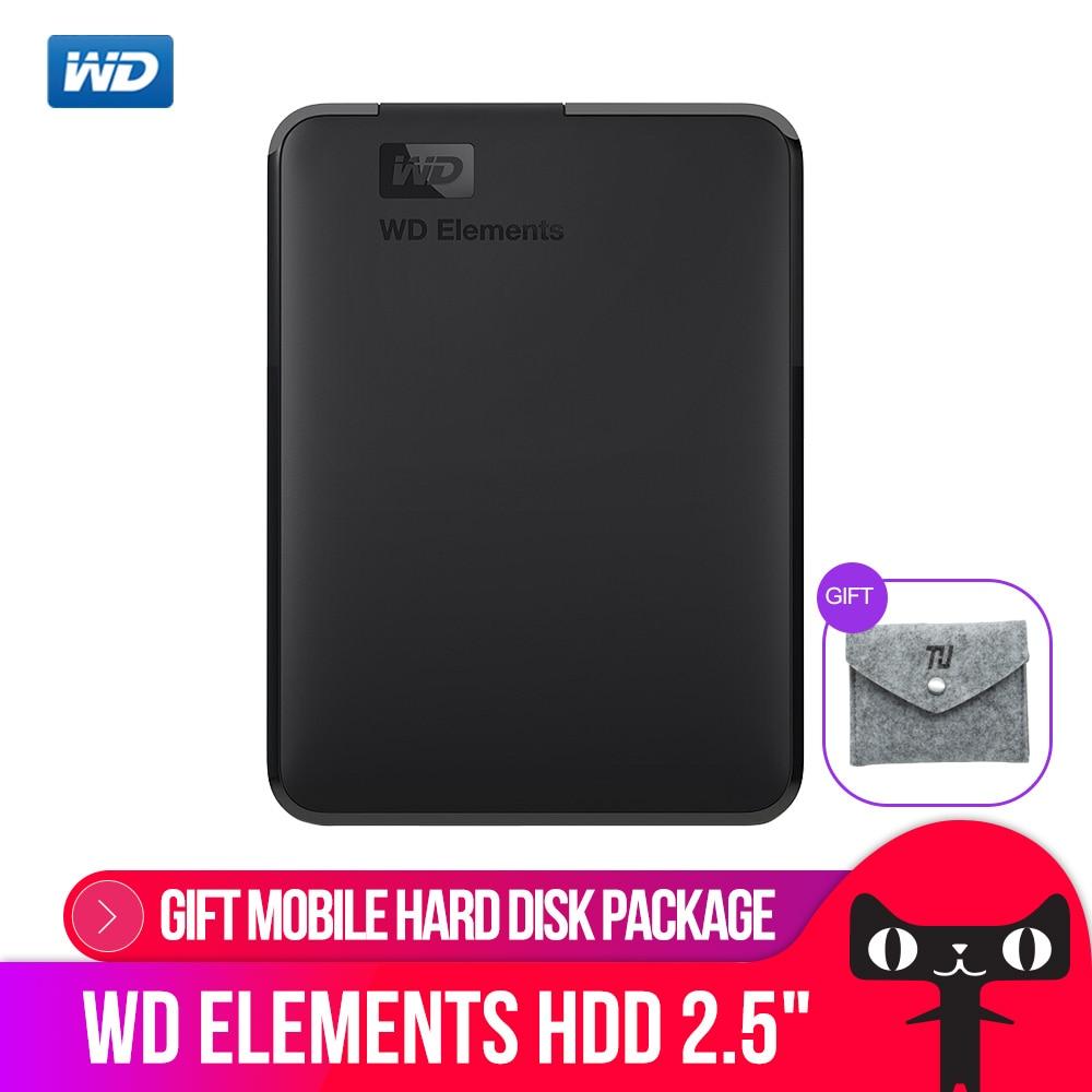 Western Digital WD Elements Portable Externe hdd 2,5 USB 3.0 Festplatte Disk 500 gb 1 tb 2 tb 4 tb original für PC laptop