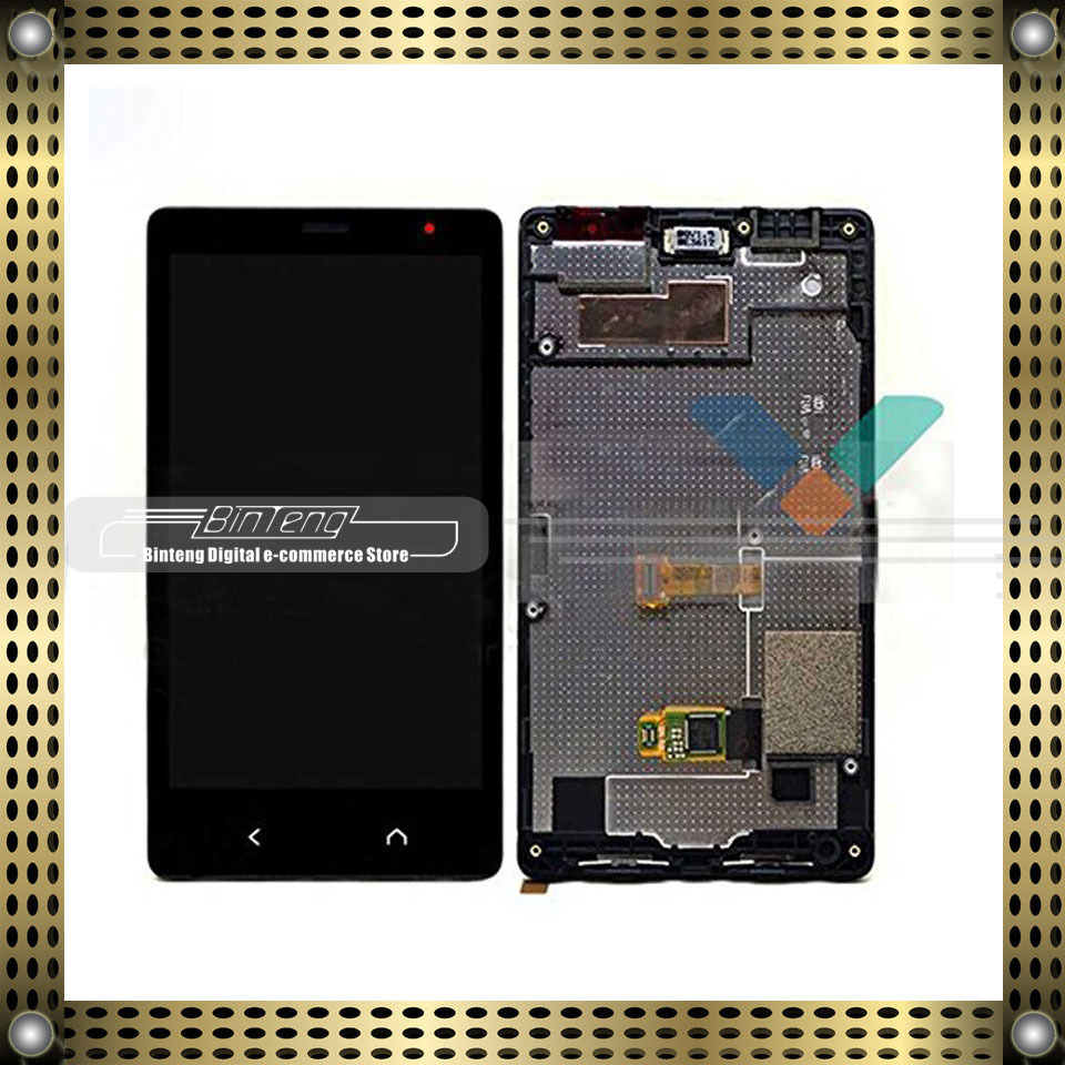 Lcd Display Touch Screen Digitizer Assembly With Frame For Nokia X2 Dual Sim Rm 1013 In Mobile Phone Panel From Cellphones Telecommunications On