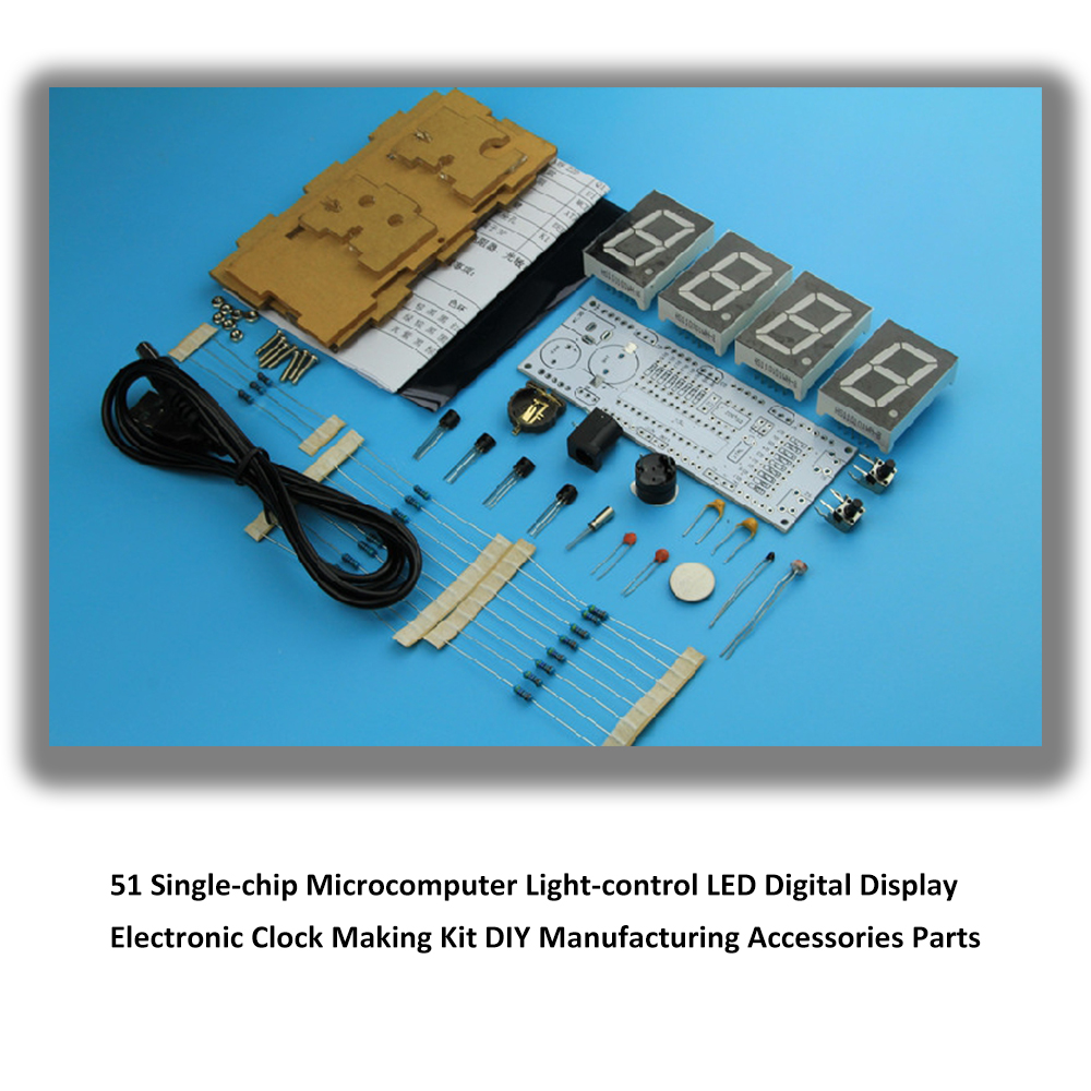 Electronic Timer Kit Or Plans Not Lossing Wiring Diagram Of Clock Led Digital Display Making 51 Single Chip Rh Aliexpress Com Electric