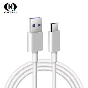 Image 1 - 5A USB סוג C כבל עבור Huawei P20 לייט כבוד 10 9 פרו מהיר טעינת נתונים כבל טלפון מטען סמסונג s9 Redmi הערה 7